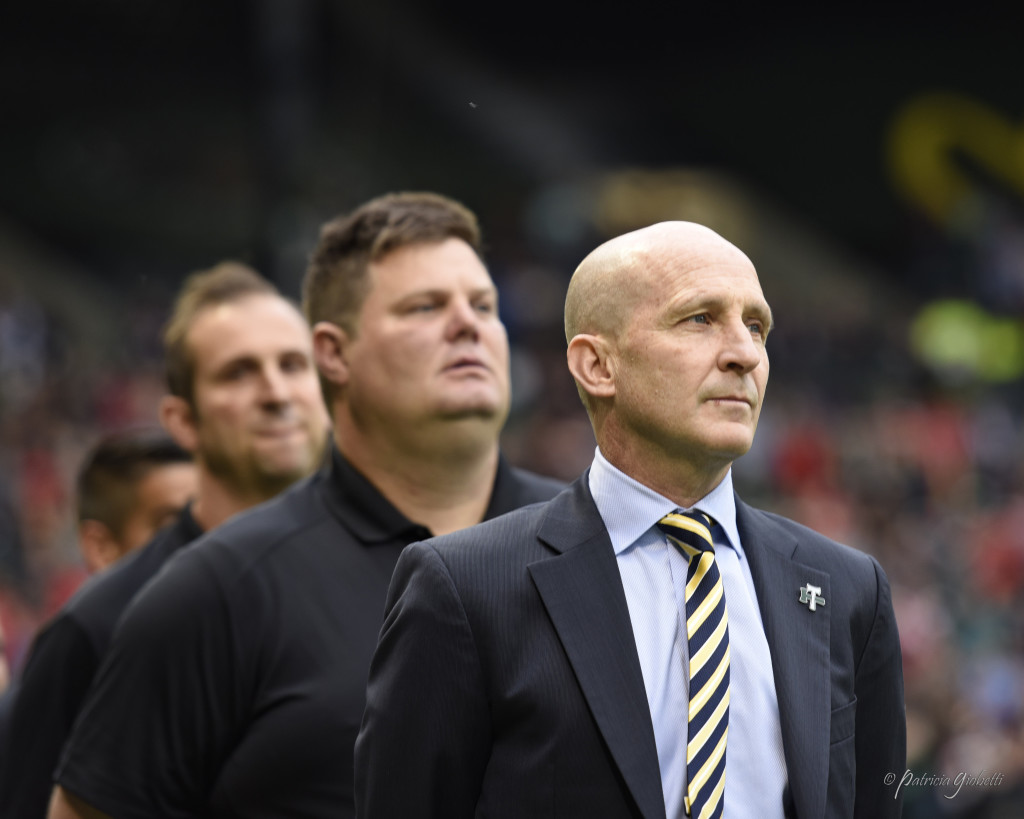 Paul Riley is the new coach of the Western New York Flash after spending the past two seasons in charge of Portland Thorns FC. (Photo Copyright Patricia Giobetti for The Equalizer)