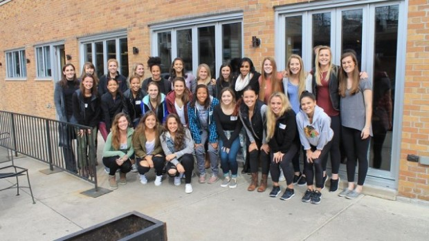 Chicago Red Stars pose on day one of preseason. (photo credit:  Chicago Red Stars)