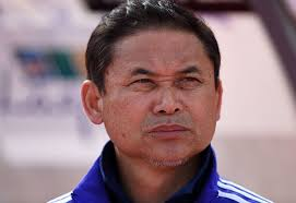 Norio Sasaki needs his team to win twice and get major help to salvage an Olympic bid. (photo courtesy, Asian Football Confederation)