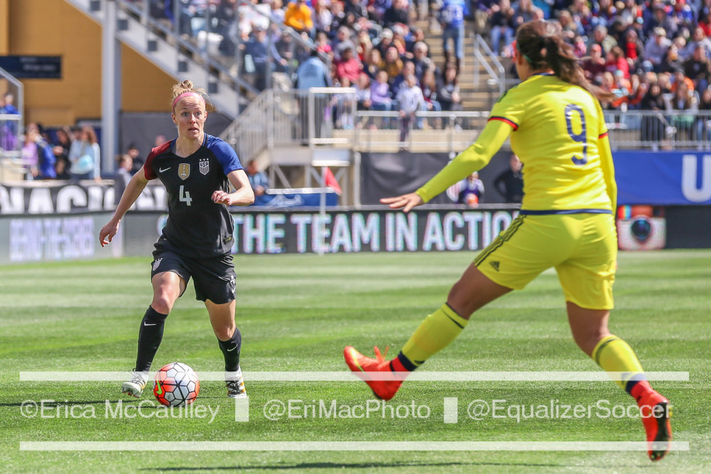 Becky Sauerbrunn says the USWNT could boycott the Olympics should nothing change in CBA negotiations. (Photo Copyright Erica McCaulley for The Equalizer)