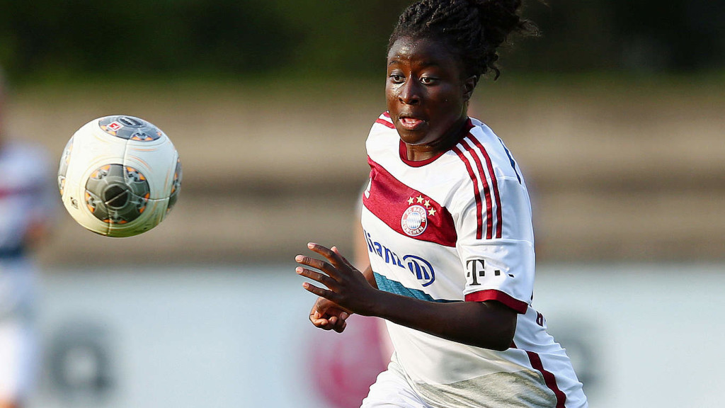 The Boston Breakers signed German forward Eunice Beckmann. (Photo: dfb.de)