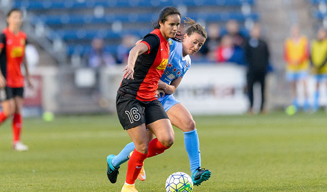 Lady Andrade is no longer with the Flash. (Photo: WNY Flash)