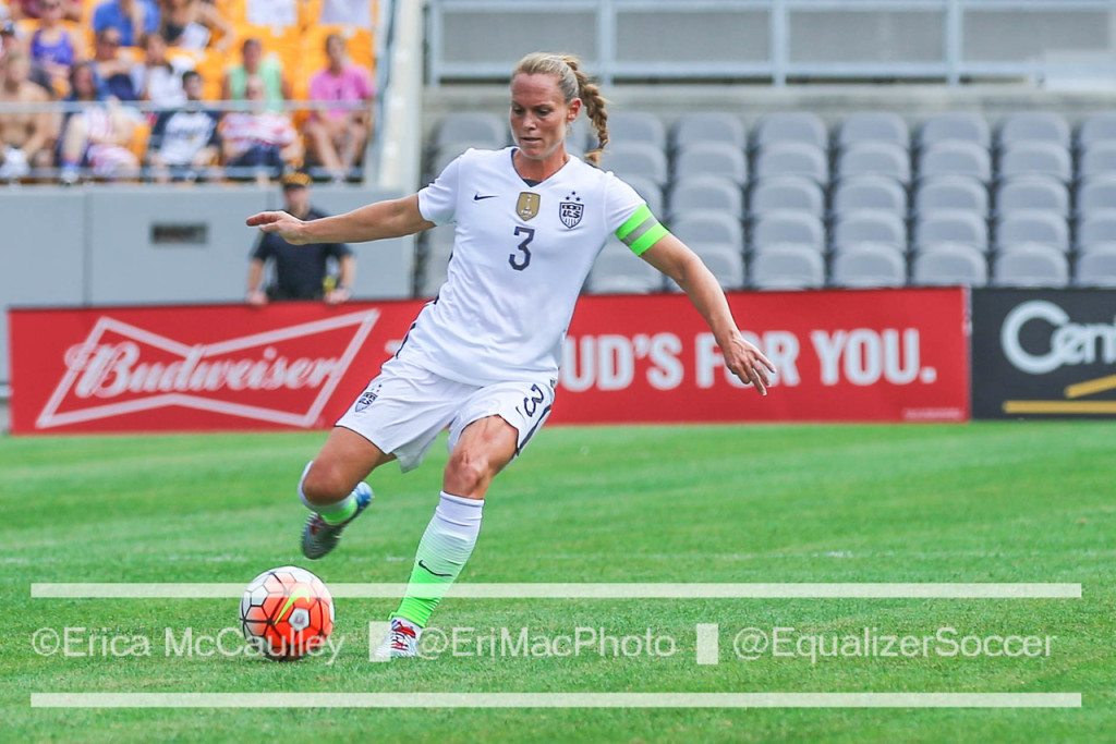 Christie Rampone hasn't played for the U.S. since September. (Photo Copyright Erica McCaulley for The Equalizer)