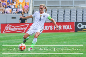 Former USWNT captain Christie Rampone will be honored for her international career before the USWNT's match against England on March 4. (Photo Copyright Erica McCaulley for The Equalizer)