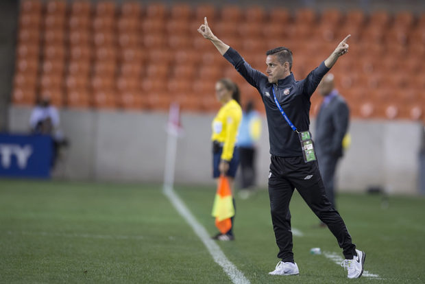 John Herdman continues to find creative ways to improve the Canadian women's national team. (Photo: Canada Soccer)