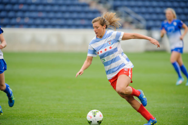 Sofia Huerta is one of eight Red Stars to spend the offseason playing in Australia. Rory Dames says he can see the difference.