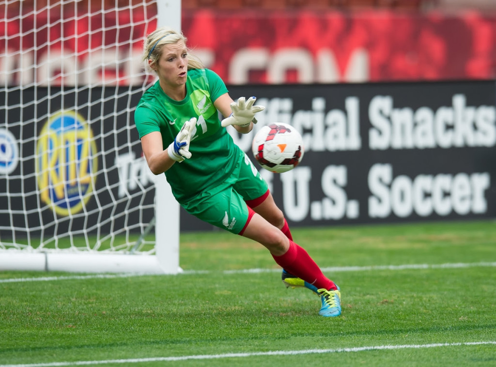 Sky Blue FC has signed New Zealand goalkeeper Erin Nayler. (Photo Courtesy Sky Blue FC)