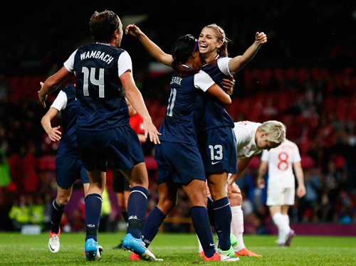 Alex Morgan became a household name when she won the United States the gold medal in London.