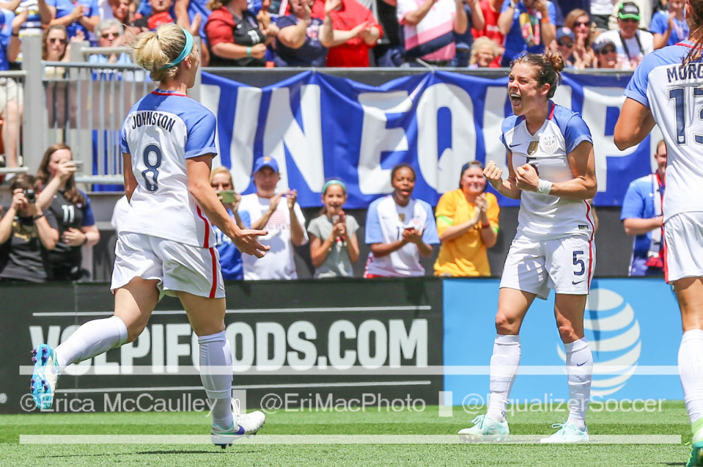 The USWNT will play Costa Rica on July 22 in Kansas City. (Photo Copyright Erica McCaulley for The Equalizer)