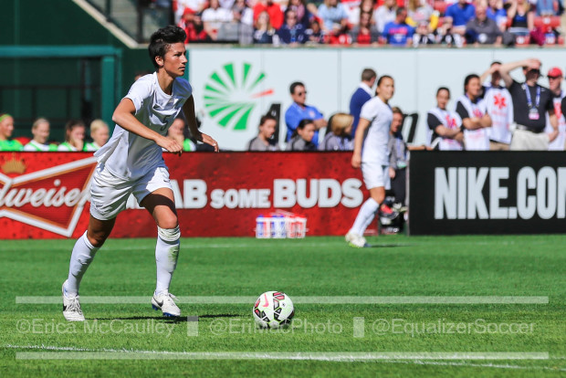 Abby Erceg announced her retirement from international soccer. (Photo Copyright Erica McCaulley for The Equalizer)