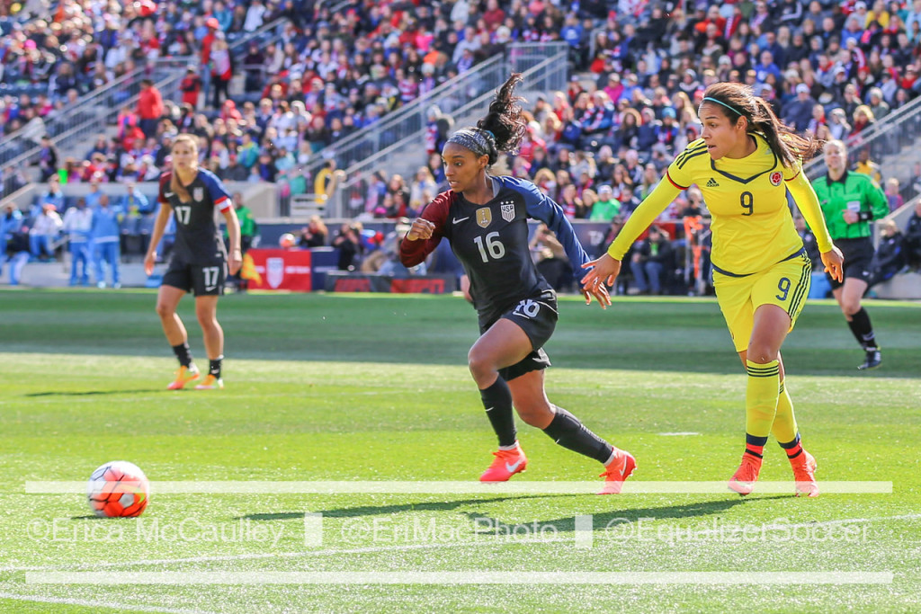 Crystal Dunn is among several new faces for the USWNT from the 2015 World Cup. (Photo Copyright Erica McCaulley for The Equalizer)