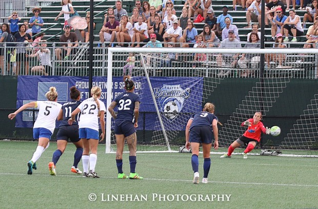 Goalkeeper Jami Kranich joins Princeton's coaching staff. (photo copyright Linehan Photography for The Equalizer)