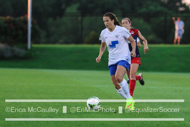 Stephanie McCaffrey's roller coaster tenure with the Breakers is over (photo copyright EriMac Photo for The Equalizer)