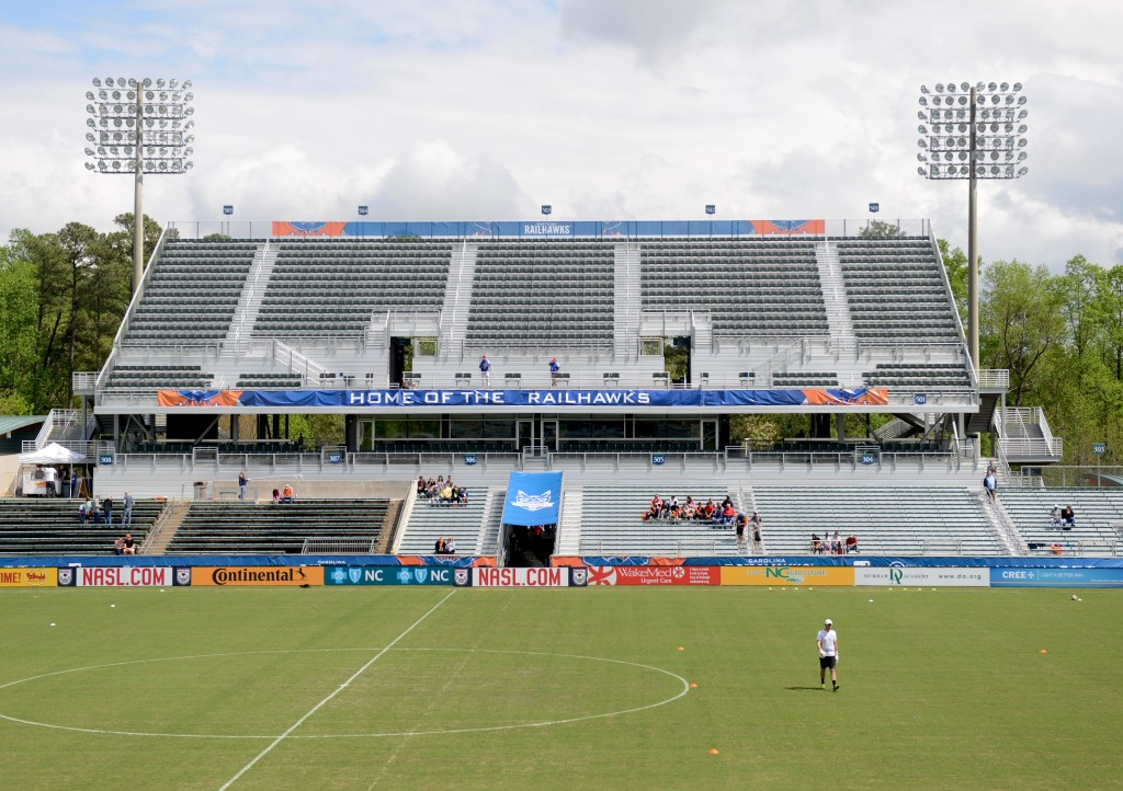WakeMed Soccer Park, home of the Carolina Railhawks. (Photo: Rob Kinnan-Carolina RailHawks)