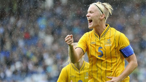 Sweden has won two straight matches using tactics that have made Nilla Fischer and her teammates the villains of women's soccer.
