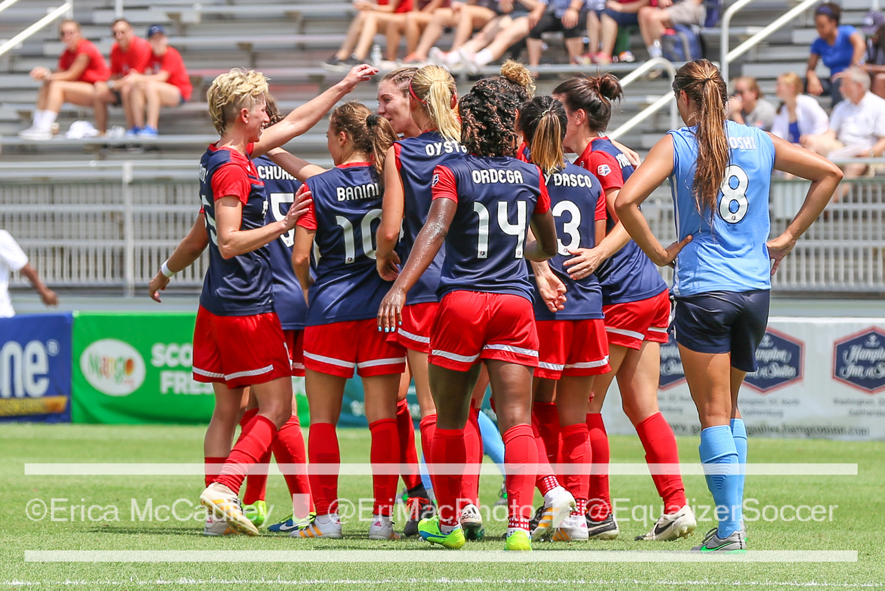 The Washington Spirit continue to pace the NWSL. (Photo Copyright Erica McCaulley for The Equalizer)