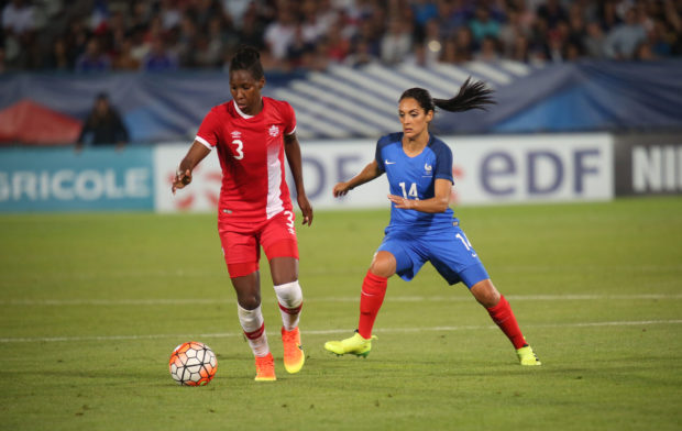 Olympique Lyonnais announces signing of Kadeisha Buchanan one day after she's named NCAA top women's player (Photo: Canada Soccer)