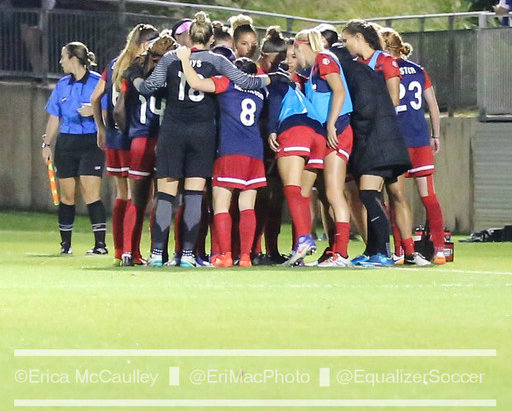 Washington Spirit players say they respectfully disagree with owner Bill Lynch's views of the national anthem. (Photo Copyright Erica McCaulley for The Equalizer)