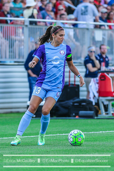 The Orlando Pride, led by Alex Morgan, had a decent 2016, but must address needs in 2017. (Photo Copyright Erica McCaulley for The Equalizer)
