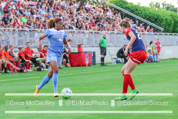 Casey Short was a 1st round pick in 2013, but her NWSL debut did not come until 2016. (photo copyright EriMac Photo for The Equalizer)