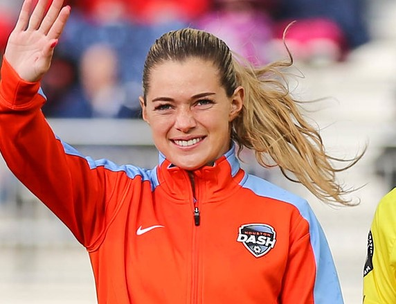 Kealia Ohai did not score until July 16, but four goals last week has her atop NWSL with nine (photo copyright EriMac Photo for The Equalizer)