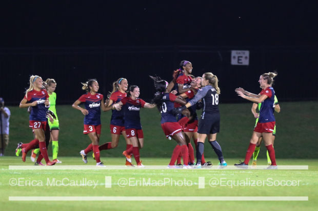 The Spirit fell short of winning the Shield, but Jim Gabarra says the ultimate goal is to win the NWSL Championship (photo copyright EriMac Photo for The Equalizer)
