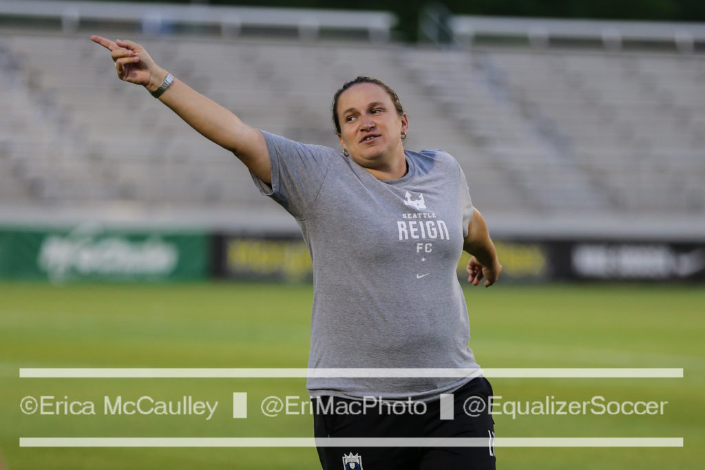 Laura Harvey signed a four-year extension to stay with Seattle Reign FC through 2020. (Photo Copyright Erica McCaulley for The Equalizer)