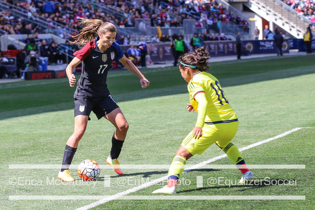 Tobin Heath is excited to make the most of her time with the USWNT as a veteran. (Photo Copyright Erica McCaulley for The Equalizer)