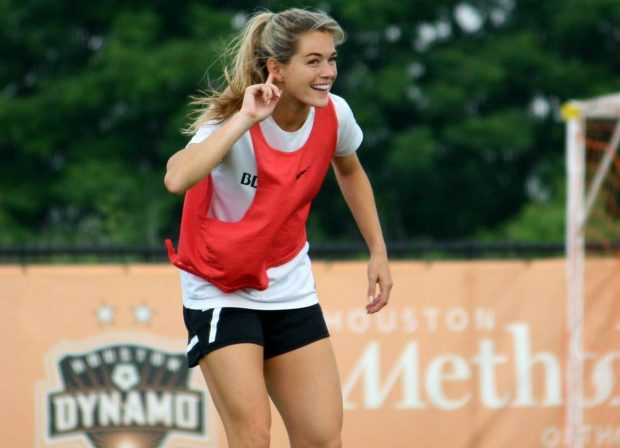 Kealia Ohai's torrid second half for the Dash has her on the verge of a maiden camp for the United States (photo courtesy: Michael J Cox)