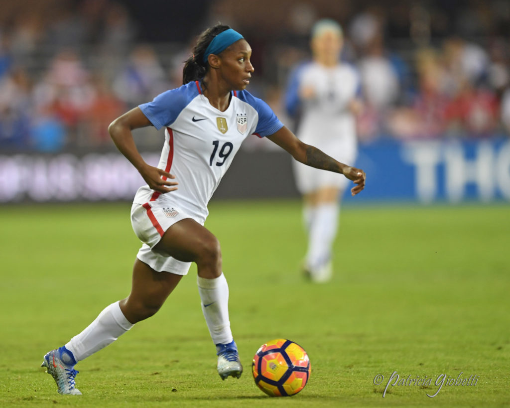 Crystal Dunn's rise continues. (Photo Copyright Patricia Giobetti for The Equalizer)