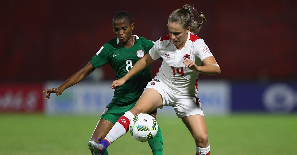 Canada looks likely to be headed home early from this U-20 Women's World Cup. (Photo: Canada Soccer)