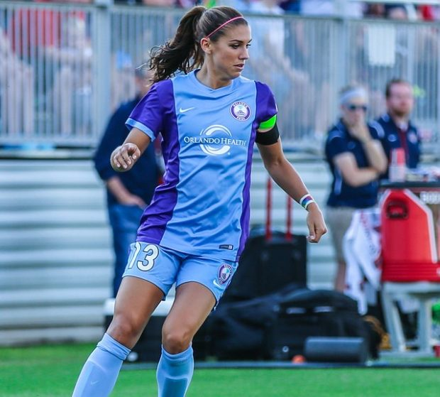Alex Morgan will join Lyon in January. She will rejoin the Pride in early June (photo copyright EriMac Photo for The Equalizer)