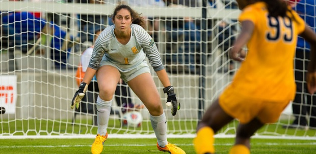 Sammy Jo Prudhomme helped USC win the College Cup. Will she get a shout on draft day? (photo courtesy USC)
