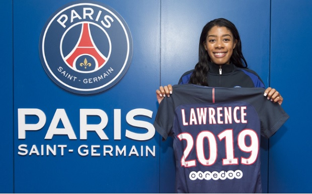 PSG officially announced the signing of Canadian international Ashley Lawrence on Tuesday. (photo courtesy of PSG)