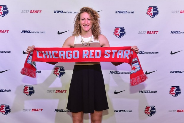 Morgan Proffitt was taken by Chicago Red Stars in the second round of the 2017 NWSL Draft. (photo by Chicago Red Stars)