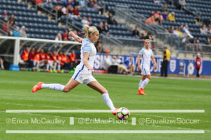 England Lioness Steph Houghton is eagerly anticipating playing against top American players in the FA WSL. (photo copyright EriMac Photo for The Equalizer)