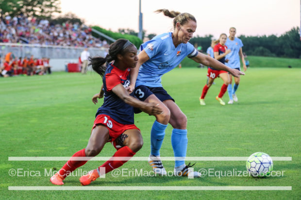 Christie Rampone returns for at least one more season with Sky Blue FC. (photo copyright EriMac Photo for The Equalizer)