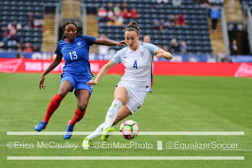Lucy Bronze thinks England could finally beat France, if the two sides meet in EURO quarterfinals. (photo copyright EriMac Photo for The Equalizer)