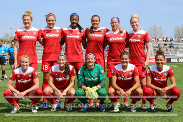 The Washington Spirit players have launched a new blog called Beyond Our Boots. (photo copyright EriMac Photo for The Equalizer)