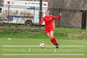 Cameron Castleberry signed a contract with the Washington Spirit ahead of her rookie season. (photo copyright EriMac Photo for The Equalizer)