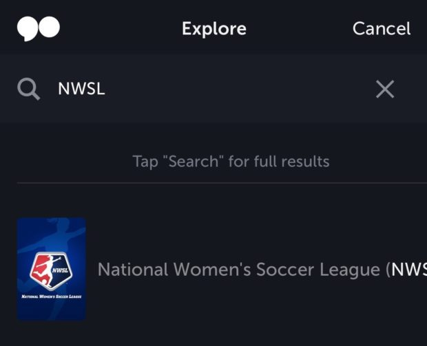 Verizon's go90 app is the new home for NWSL live streams