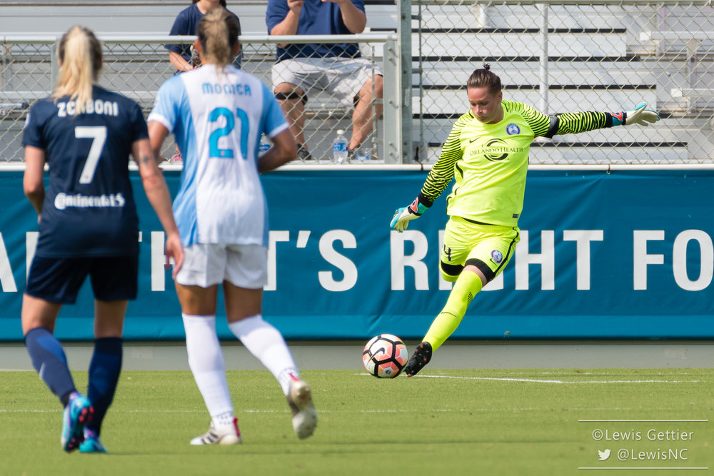 Ashlyn Harris is expected to be available for the Pride this weekend. (photo copyright Lewis Gettier)