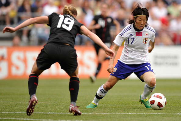 Yuki Nagasato is on her way to Chicago to join the Red Stars. (photo: Chicago Red Stars)