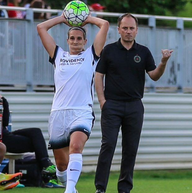 Mark Parsons said he's pleased to see Mallory Pugh in NWSL though he is not looking forward to playing against her (photo copyright EriMac Photo for The Equalizer)