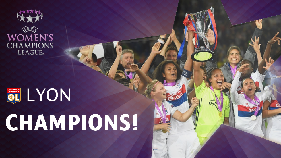 After winning last year's UWCL title, Lyon receives a bye to the round of 31 for the 2017/2018 UWCL season.