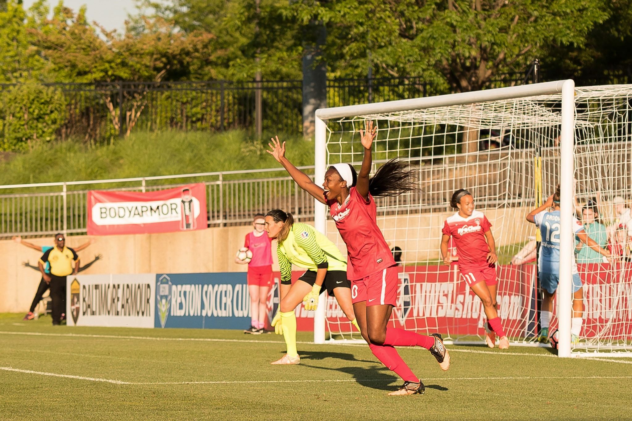 """Cheyna Williams- The 23-year old forward describes playing for the Washing Spirit as """"a dream come true."""""""