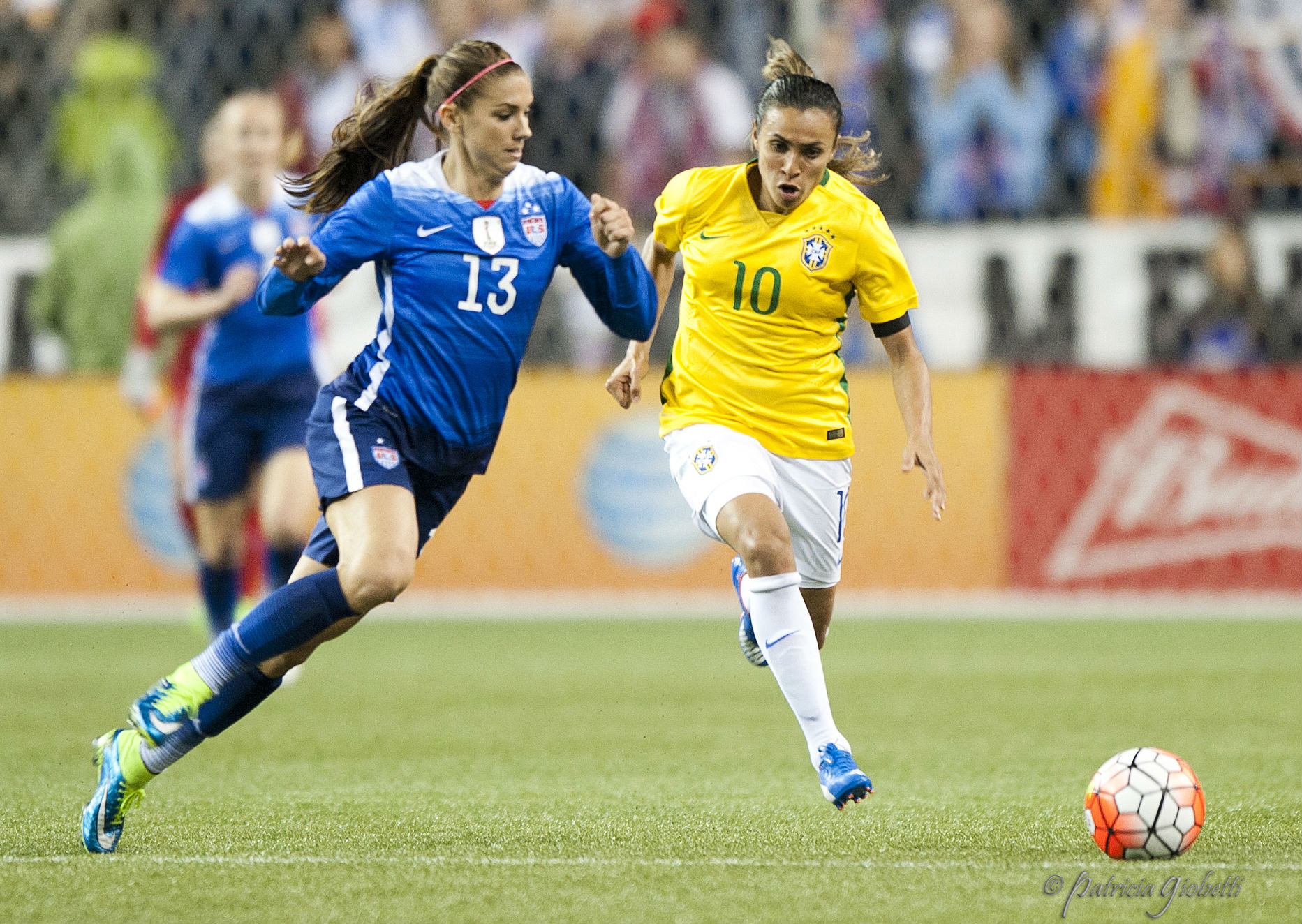 Will Brazil's defense be able to hold up against the United States? (photo copyright Patti Giobetti for The Equalizer)
