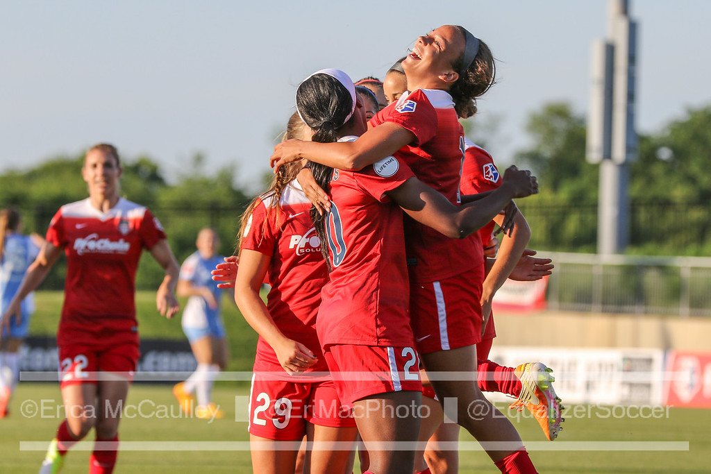 Mallory Pugh's immediate impact on the Spirit season cannot be debated. (photo copyright EriMac Photo for The Equalizer)