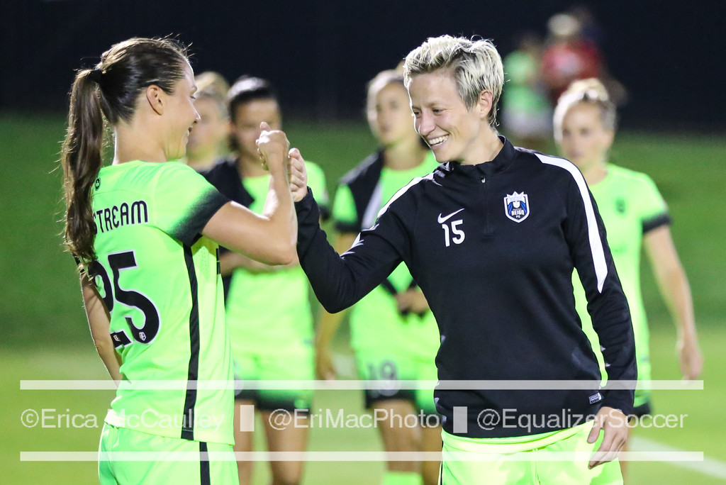 Megan Rapinoe was named NWSL Player of the Week for the second time this season. (photo copyright EriMac Photo for The Equalizer)
