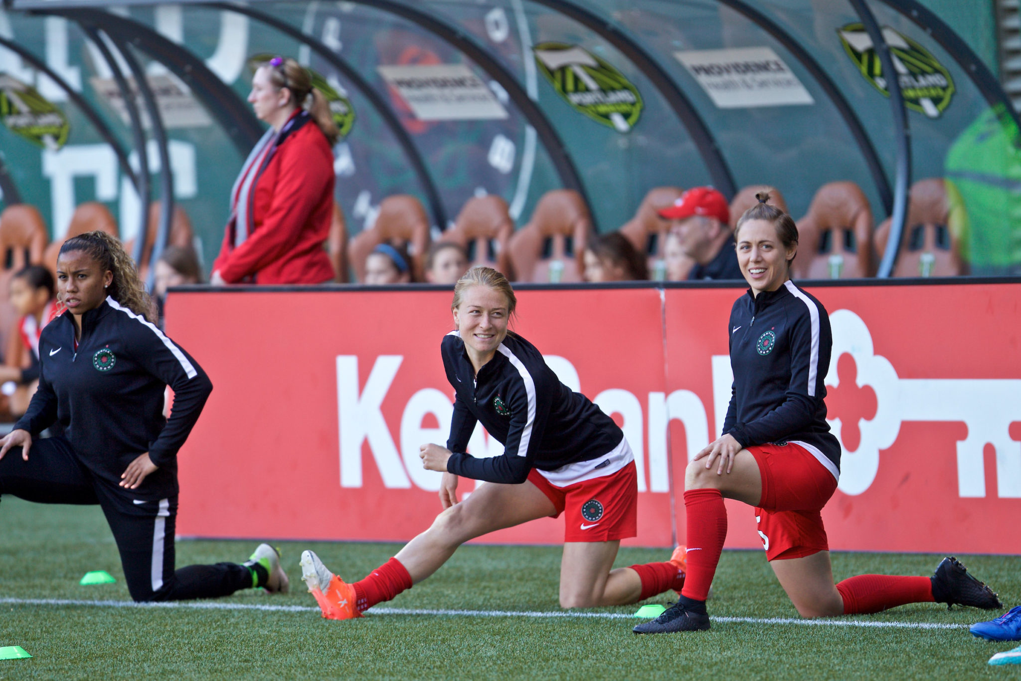 The 23-year old has 12 senior team appearances with the USWNT and was named an alternate to Jill Ellis' Rio Olympics roster in the summer of 2016. (Credit: Thorns FC and Craig Mitchelldyer)
